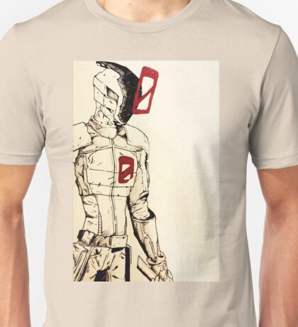 Zero // Borderlands art #1 Unisex T-Shirt