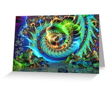 Ancient River of Fate Greeting Card