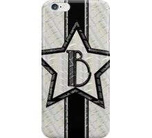 Art Deco Star monogram letter B iPhone Case/Skin
