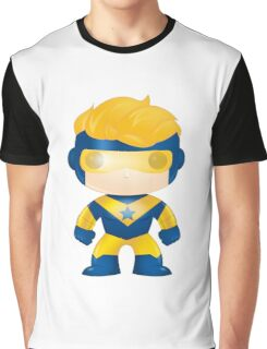 Booster Gold Pop Style Graphic T-Shirt