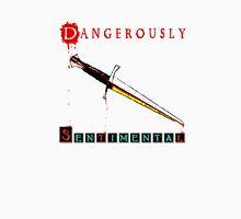 Dangerously Sentimental Dagger Men's Baseball ¾ T-Shirt