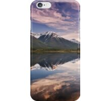 Sunset At The Vermilion Lakes iPhone Case/Skin