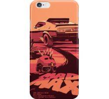 Mad Max Art #1 iPhone Case/Skin