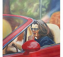 Rosie O'Donnell Picking Her Nose Photographic Print