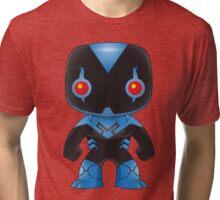 Blue Beetle Pop Style Tri-blend T-Shirt
