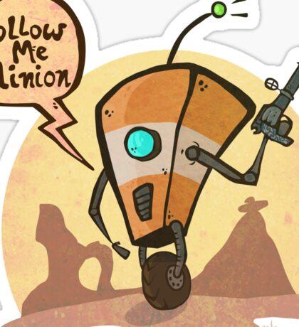 Follow me minion Sticker