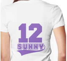 Sunny - 12 Womens Fitted T-Shirt