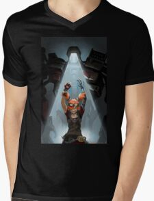 Gaige // Borderlands Art #2 Mens V-Neck T-Shirt