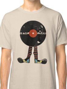 Funny Vinyl Records Lover - Grunge Vinyl Record Notebooks and more Classic T-Shirt