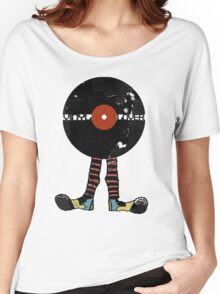 Funny Vinyl Records Lover - Grunge Vinyl Record Notebooks and more Women's Relaxed Fit T-Shirt