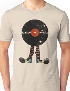 Funny Vinyl Records Lover - Grunge Vinyl Record T-Shirt