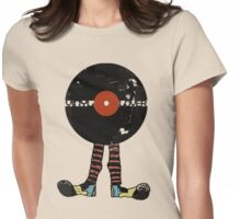 Funny Vinyl Records Lover - Grunge Vinyl Record Notebooks and more Womens Fitted T-Shirt