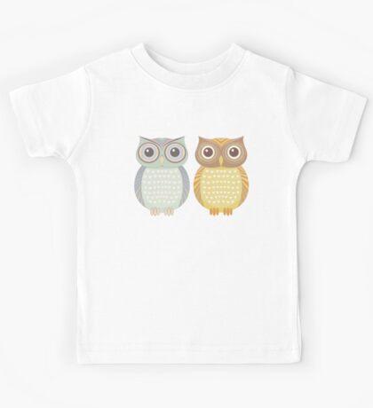 Cool Owl & Friendly Owl Kids Tee