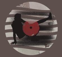 Vinyl Records Vintage Retro Grunge! DJ...Put the record on! One Piece - Short Sleeve