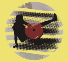 Vinyl Records Vintage Retro Grunge! DJ...Put the record on! Kids Tee