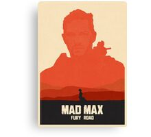 Mad Max Fury Road Art #1 Canvas Print