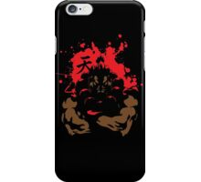AKUMA The Raging Demon  iPhone Case/Skin