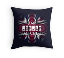 I AM CUMBERBATCHED (UK Edition) Throw Pillow