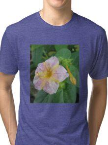 PinkYellow Cross  Tri-blend T-Shirt