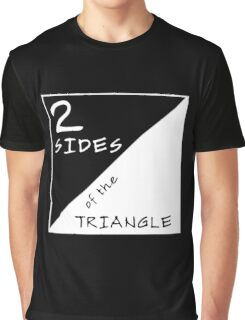 Two Sides Of The Triangle Graphic T-Shirt