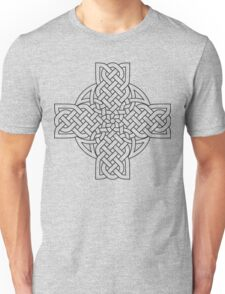 Tulip Cross with Halo Unisex T-Shirt