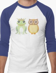 Frog & Owl Men's Baseball ¾ T-Shirt
