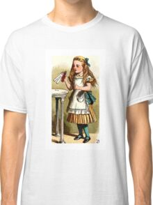 Alice About to Drink the Potion Classic T-Shirt