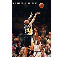 8 POINTS, 9 SECONDS. Photographic Print