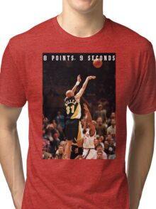 8 POINTS, 9 SECONDS 2.0 Tri-blend T-Shirt