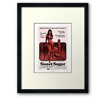 SWEET SUGAR B MOVIE Framed Print