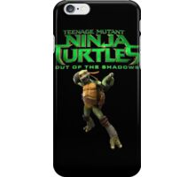 TMNT out of teh shadow iPhone Case/Skin