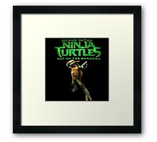 TMNT out of teh shadow Framed Print