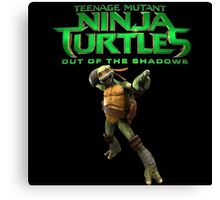TMNT out of teh shadow Canvas Print