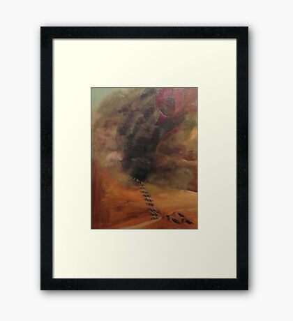 Shai Hulud, Worm That Is God Framed Print
