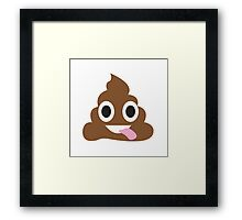 Happy Poo Framed Print