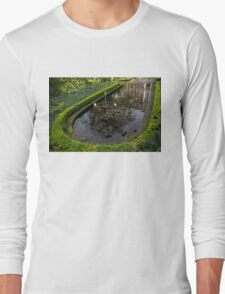 In the Heart of Amsterdam Hidden Tranquility  Long Sleeve T-Shirt