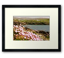 Malinmore Pier, Glencolmcille, Co. Donegal  Framed Print