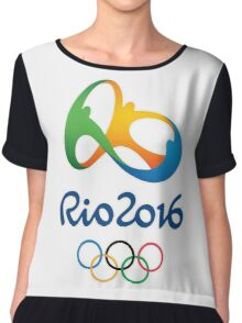 OLYMPIC GAMES RIO BRAZIL 2016 Chiffon Top