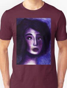 Purple Portrait Unisex T-Shirt