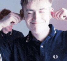 Blur and Damon Albarn Sticker