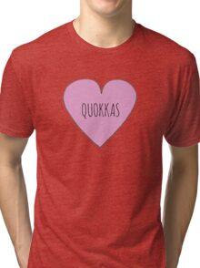QUOKKA LOVE Tri-blend T-Shirt