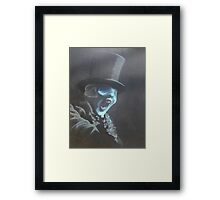 Portrait of a Doctor Who Villain Framed Print