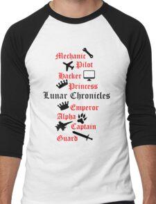 Lunar Chronicle characters Men's Baseball ¾ T-Shirt