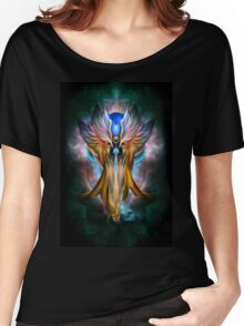 The Ethereal Beauty Of Arsencia The Golden Setren Women's Relaxed Fit T-Shirt