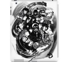 Tribute to Hayao Miyazaki (Black and White) iPad Case/Skin