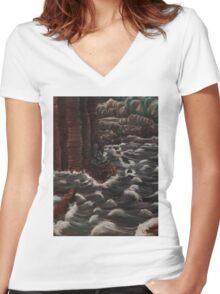 The Siren Women's Fitted V-Neck T-Shirt