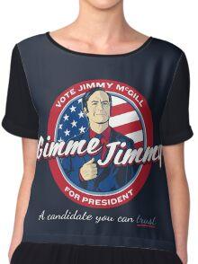 Better Elect Jimmy (Version 1) Chiffon Top