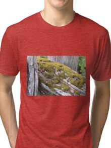 Mossy Fence Tri-blend T-Shirt