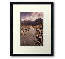 Mount Cook National Park Framed Print
