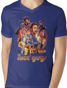 the nice guys Mens V-Neck T-Shirt